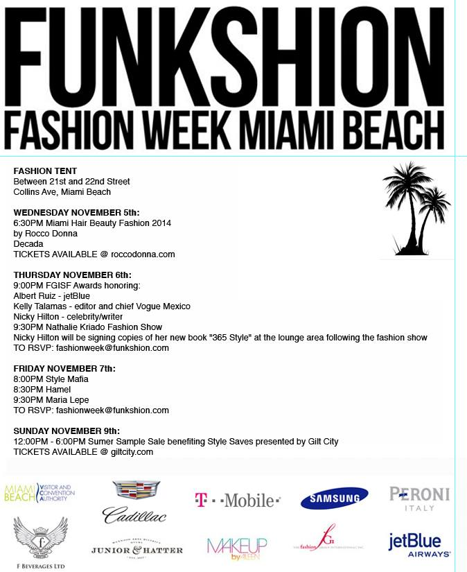 Funkshion: Fashion Week Miami Beach