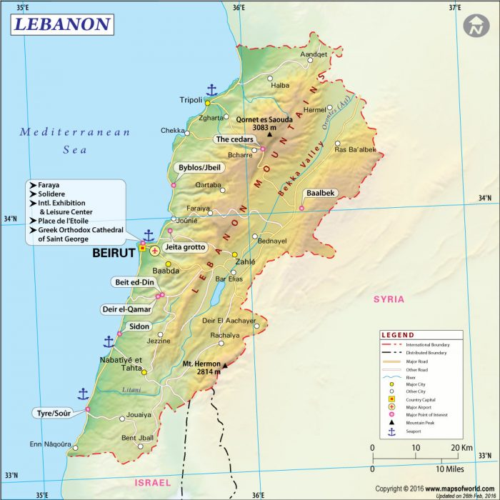 map-of-lebanon-2016