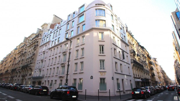 XO Hotel Paris, hotel boutique no charmoso 17o arredonssement