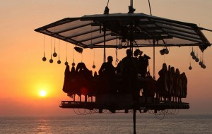 Dinner in the Sky em Dubai